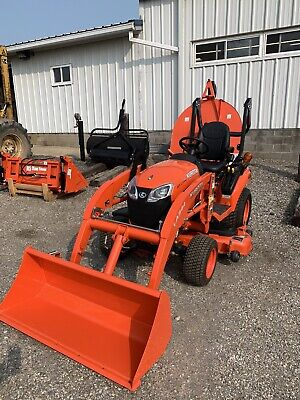 2020 Kubota Bx2380 W Loader 54 Mower Deck - Unit Only Has 16 Hours