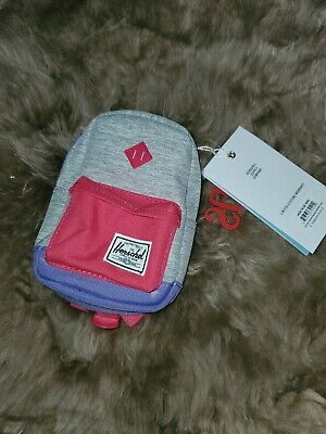 Herschel Supply Co. Kids Heritage MINI Backpack Purple And Pink NWT
