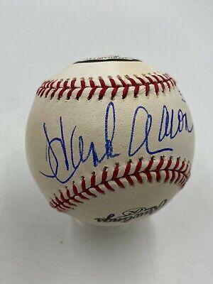 """Hank Aaron HOF """" 57 MVP """" Signed Official Rawlings Baseball PSA/DNA JSA LOA"""
