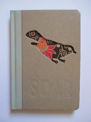 Soar Bird Journal Diary blank book Cut out 96 lined pg hardcover graduate dream