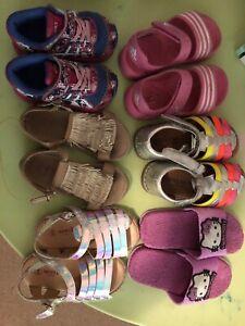 Girls shoes bundle brand names