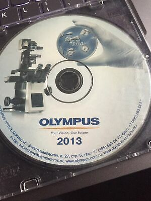 Olympus Microscope Disc Disk 2013 Englishrussian Files Bx Ix Tirf Lv200 Etc.
