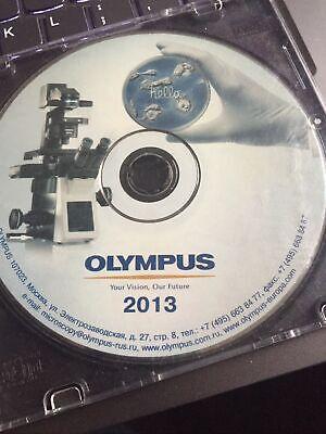 Olympus Microscope Disc Disk 2013 Englishrussian Files Bx Ix Tirf Lv200 Etc.