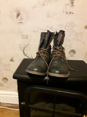 Mustang Lace Up Ankle Boots Size 4