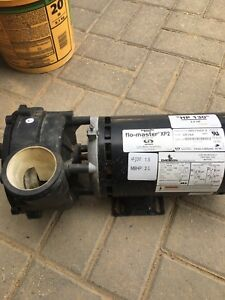 Hot tub Pump - Works but leaks New Impeller