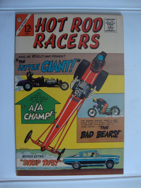 Hot Rod Racers #9 F+ The Little Giant