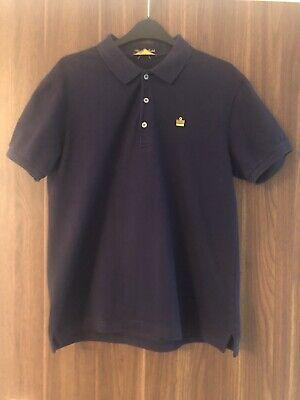 Men's Navy Blue Admiral Polo Shirt - Medium