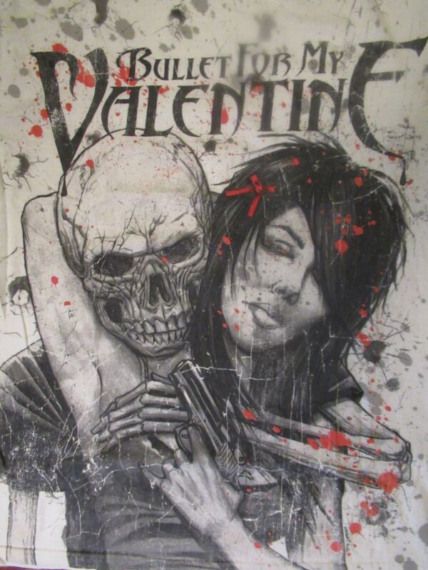 Bullet for My Valentine Tee Sz. L