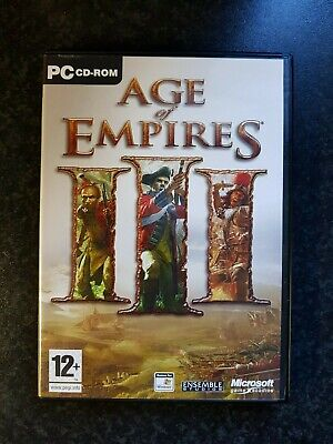 GAMES FOR WINDOWS - AGE OF EMPIRES III - PC GAME DVD for sale  Shipping to Nigeria