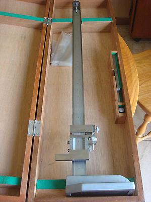 Mitutoyo 24 Vernier Height Gage Pn159-129 New