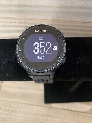 Garmin Forerunner 235 Black and Gray GPS and GLONASS Running Watch 010-03717-54