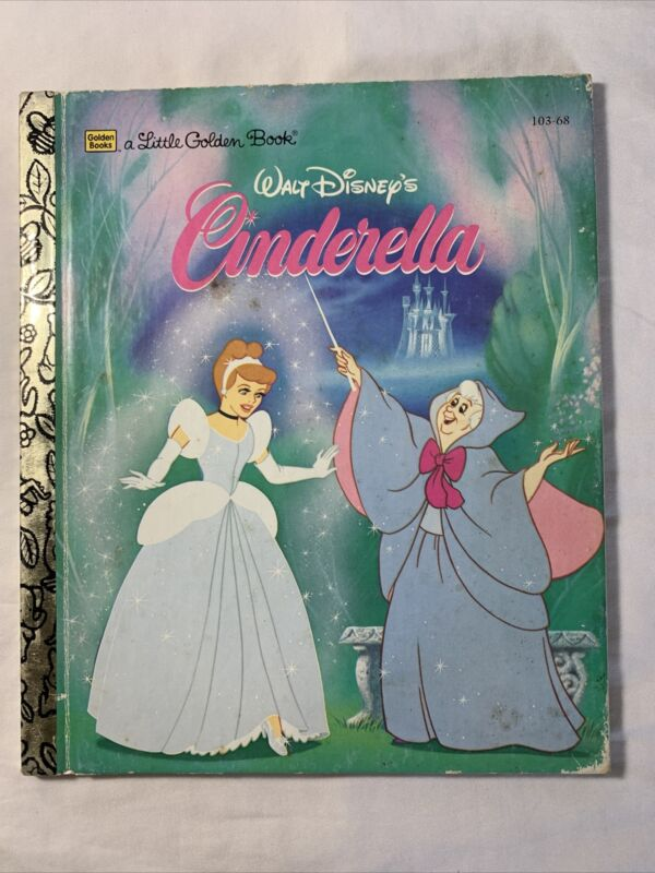 a Little Golden Book #103-68 Walt Disney