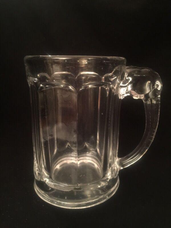 Heisey Elephant Handle Mug