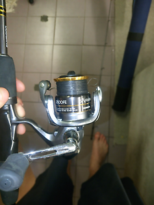 Shimano Sahara 2014 Spin Rod   Fe Spin Reel - 2500Fe   $180 ono North Rocks The Hills District Preview