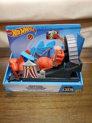Hot Wheels City Nemesis Dino Coaster Attack Playset