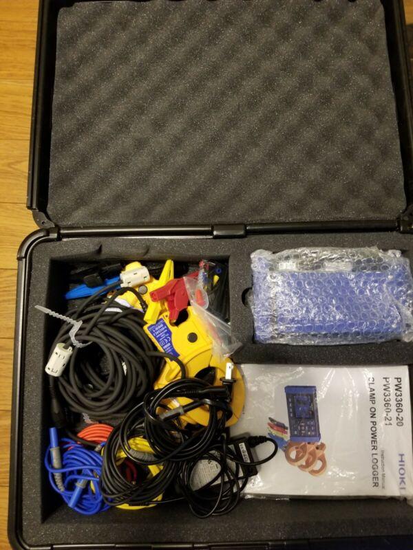 Hioki PW3360-21-01/500 Power Demand Analyzer Kit (500 A) with Harmonic Analysis