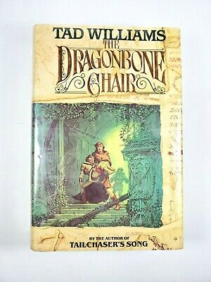 The Dragonbone Chair Tad Williams Hardcover 1st Edition First Printing 1988 Dragon Bone Chair