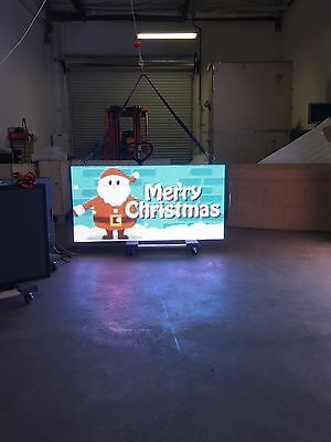 P8 8mm 3x6 Outdoor Full Color Led Sign With Wifi In-stock Single Sided Special