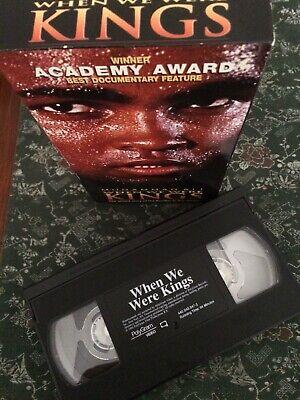 Academy Award Winner Best Documentary Muhammad Ali When We Were Kings VHS