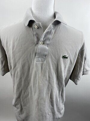 Lacoste Men's Short Sleeve Polo Shirt Size 4