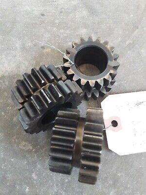 Three Used John Deere R52381 Planet Pinion Gears