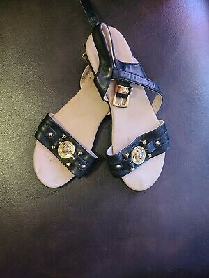 Original YOUNG VERSACE Kids Shoes - Size Euro 32 US 2  VERY GOOD CONDITION