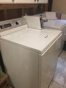 Maytag Commercial Coin Washing Machine and Dryer