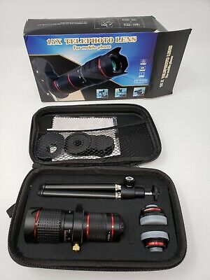 Camera Lens 15X Telephoto Zoom Kit Double Regulation HD Scale Distance #1