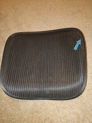 Herman Miller Aeron Chair Seat Mesh Black Pellicle Blemish Size C Large 101