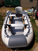 Never used 3 mtr boat with motor White Hills Bendigo City Preview
