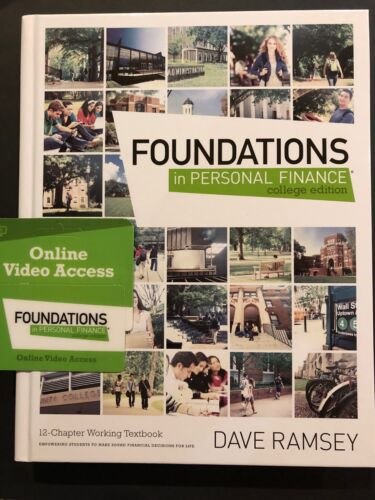 Foundations In Personal Finance  By Dave Ramsey - College Edition - Video Access