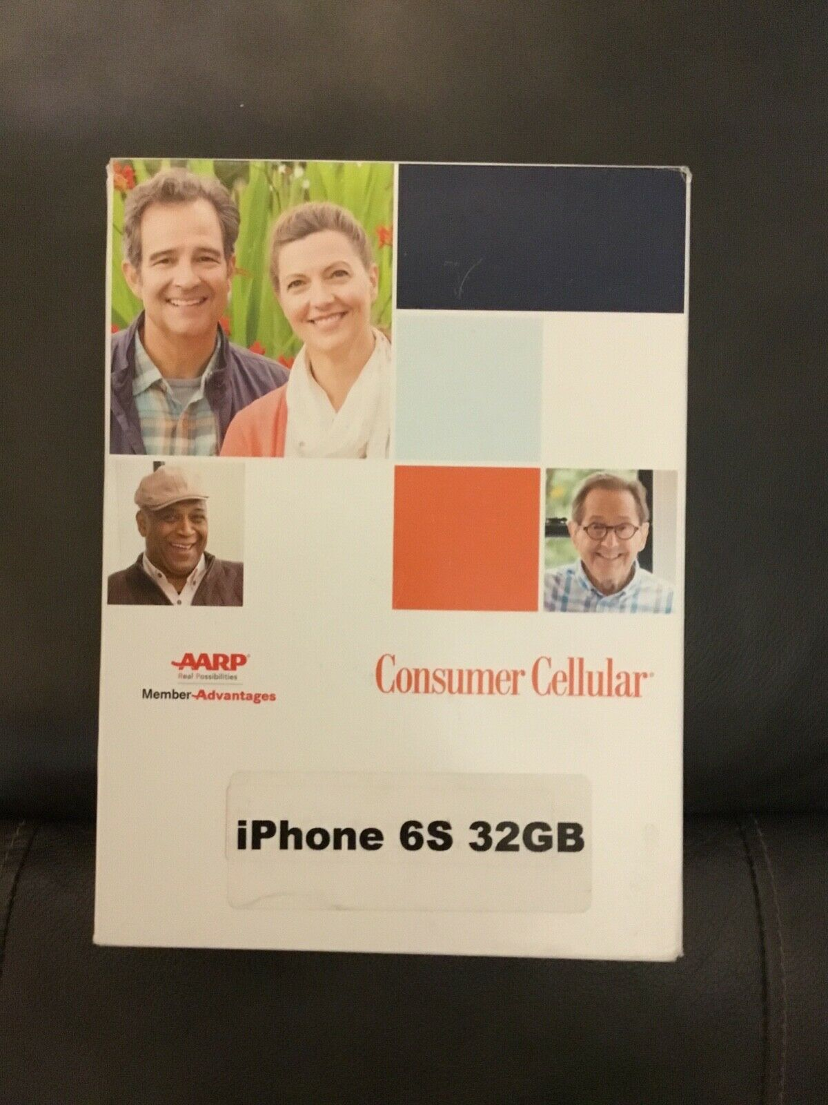 Consumer Cellular Apple iPhone 6S 32GB - Space Gray brand ne