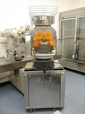 Zumex Speed Tank Wmobile Stand. Commercial Orange Juicer Press