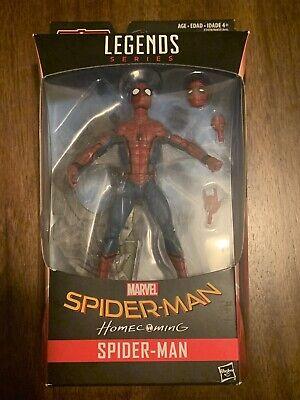 Marvel Legends Series Spider-Man Homecoming & Vulture Flight Gear Build A Figure