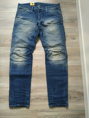 G STAR RAW JEANS 5620 3D TAPERED FIT 34/32 neuf