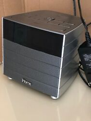 iHome IBN20 Bluetooth Radio Alarm Clock / USB Charging /Pre-owned Good Condition