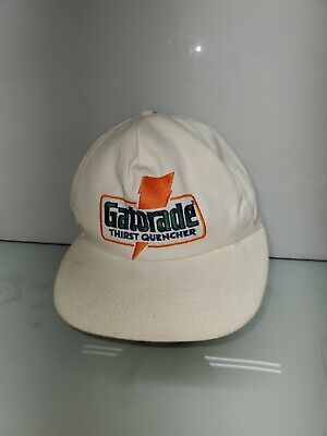 Vintage Gatorade Thirst Quencher Snapback Hat Cap Made in USA