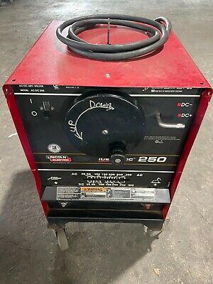 Lincoln Idealarc 250 Acdc Stick Tig Welder K1053-9
