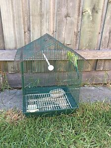 Bush budgie & cage Coolaroo Hume Area Preview