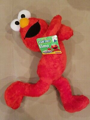 "Sesame Street Plush Large ELMO Stuffed Animal Toy 25"" TOYS""R""US NEW"
