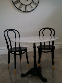 Brand new Marble table 80cm diameter geelong