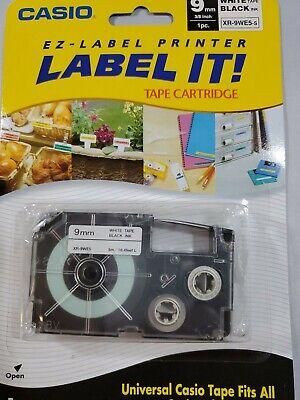 Casio Ez-label Printer Tape Cartridge 5 M Tape Lenght Fits All Casio Label Print