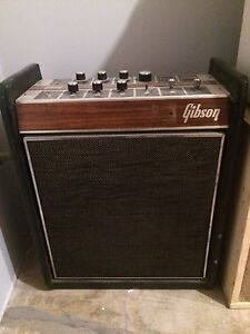 Late 60s Gibson Duo Medalist Tube Amp