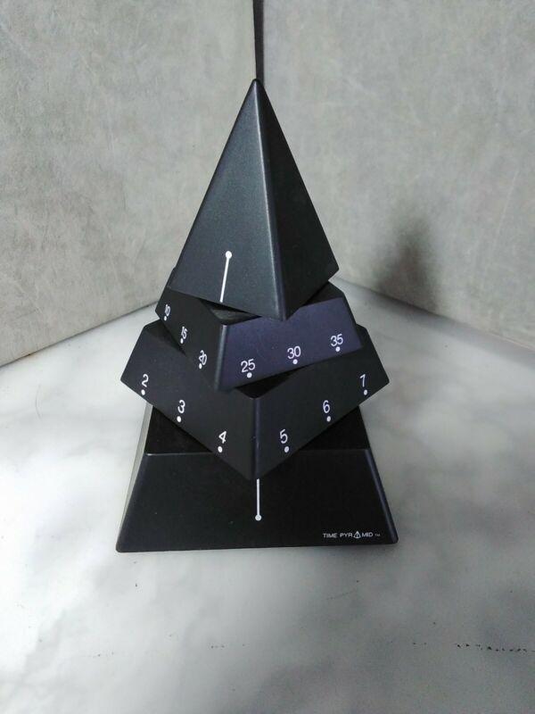 "PYRAMID CLOCK - Time Pyramid Desk Clock - 6"""