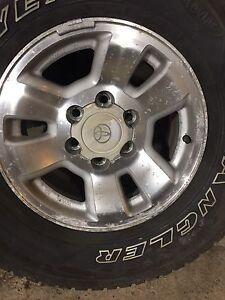 Toyota 4 runner rims and tires
