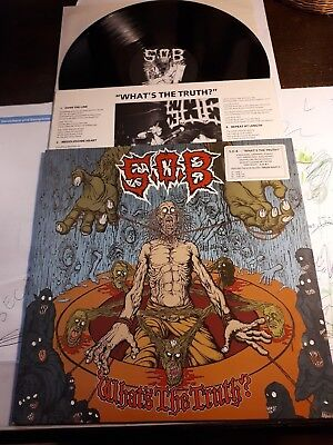 S.O.B what the thruth LP gauze lipcream septic death infest spazz wormrot grind