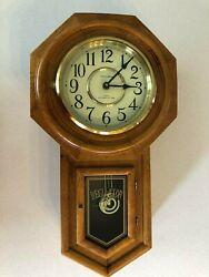 Vintage Classic Manor Westminster Chime Regulator Pendulum Quartz