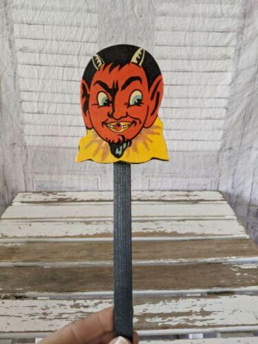 BlumChen vintage devil noise box Germany German western Halloween decor