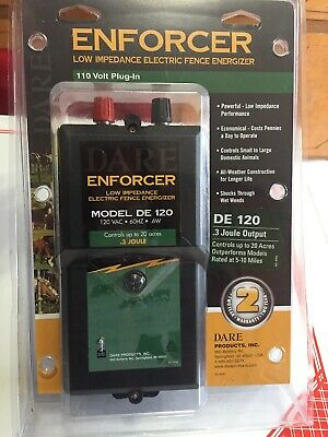 Dare Enforcer Low Impedance Electric Fence Energizer De 120 60 Hz .6w