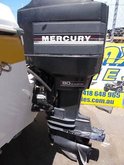 Dismantling 1984 80hp Mercury Outboard